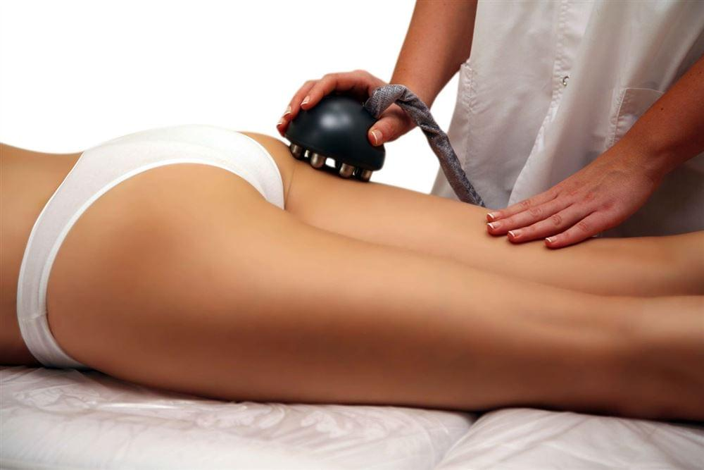 массаж для похудения попы